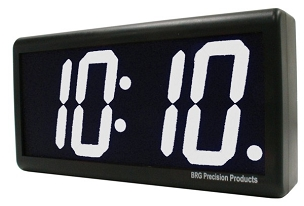 DuraTime 4 Digit, 4.0 in. User Changeable Color LED Digital Clock