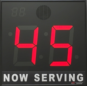 BRG's Take-A-Number 2-Digit, 8 in. LED Display