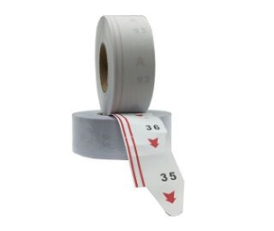 Two (2) Digit Paper Ticket Roll (2000 qty)